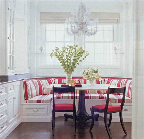 Banquette Breakfast Nook by Banquettes Interiors By Patti Interiors By Patti