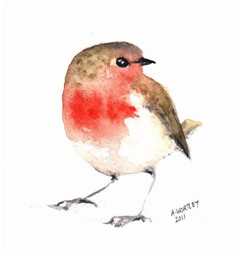 red robin tattoo robin gt watercolour robin inked