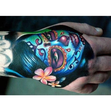skullcandy tattoos designs 143 best sugar skull tattoos designs images on