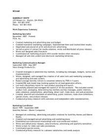 T Mobile Resume by Kimberley White Resume Professional Marketing