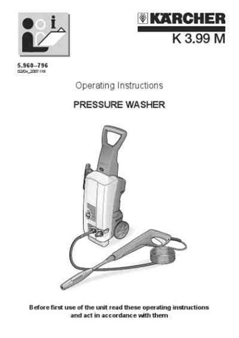 Karcher K4 348 by Karcher K 399 M Tools Manual For Free Now 3493e
