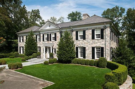 georgian colonial 11 000 square foot georgian colonial in greenwich ct