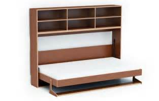 Fold Out Bed Chair Dumbo Double Tuck Bed Packs Two Folding Beds Into One Wall