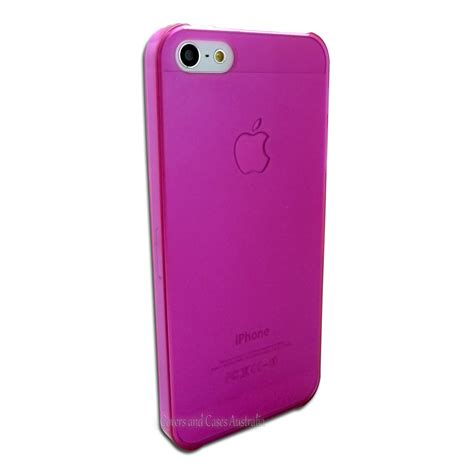 Iphone 5 Thin pink thin matte frosted for apple iphone 5 5s se