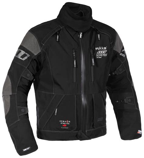 motorcycle clothing rukka armas jacket revzilla