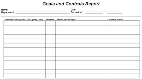 best photos of company goals template smart goal