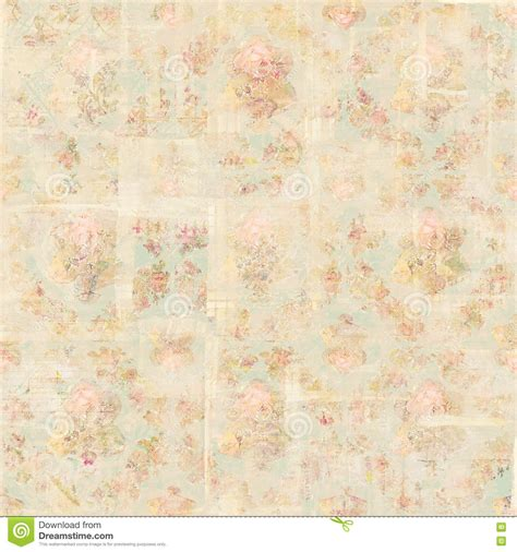 repeat pattern font antique vintage style botanical pink floral roses