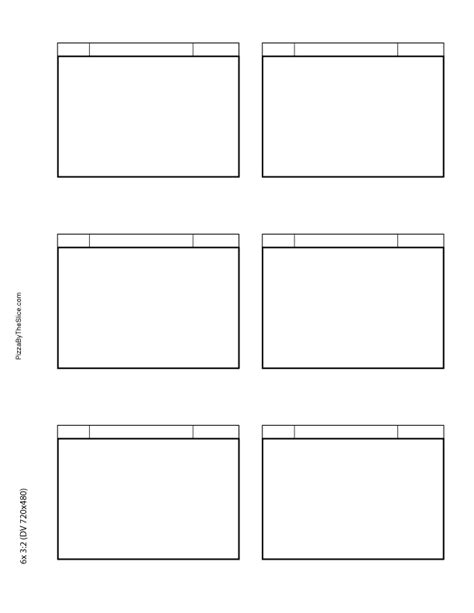free story board template blank storyboard template new calendar template site
