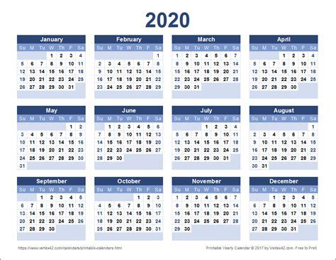 printable  yearly calendar  vertexcom printable yearly calendar