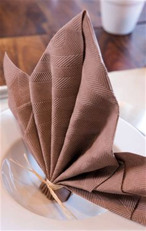 Folding Paper Napkins With Ribbon - 1000 images about napkin folding duni on