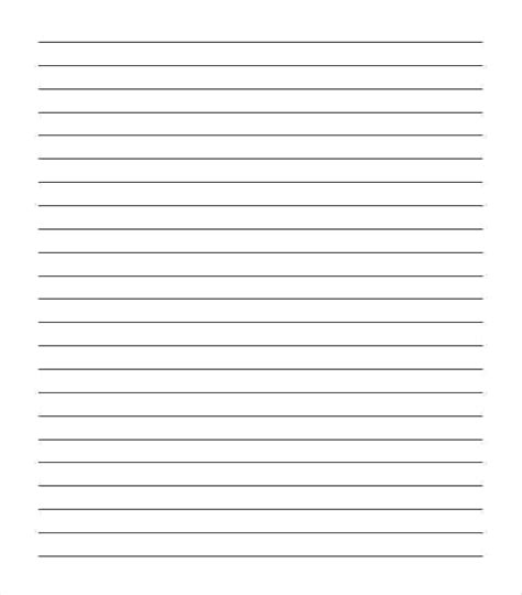 notebook paper templates word templates