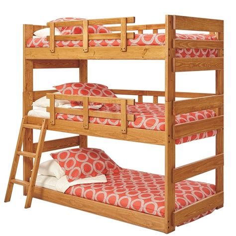 bunk beds under 300 dusty twin triple bunk bed interior decoration pinterest