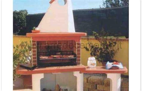 panchine in muratura barbecue a legna in muratura brasile cm300x90x220h