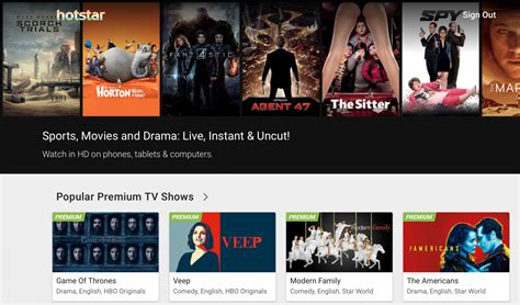 hotstar tv show hotstar app review enjoy free video on demand service on