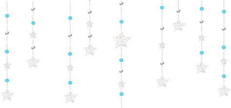 Bow Curtains Transparent Decorative Hanging Stars Gallery