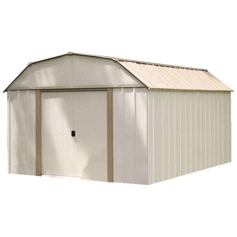 arrow lexington lx galvanized steel storage shed