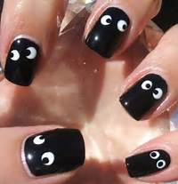 25 Simple Easy &amp Scary Halloween Nail Art Designs Ideas Pictures
