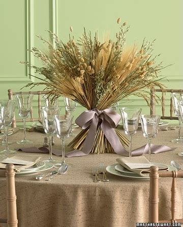wheat centerpieces for fall weddings budget brides guide