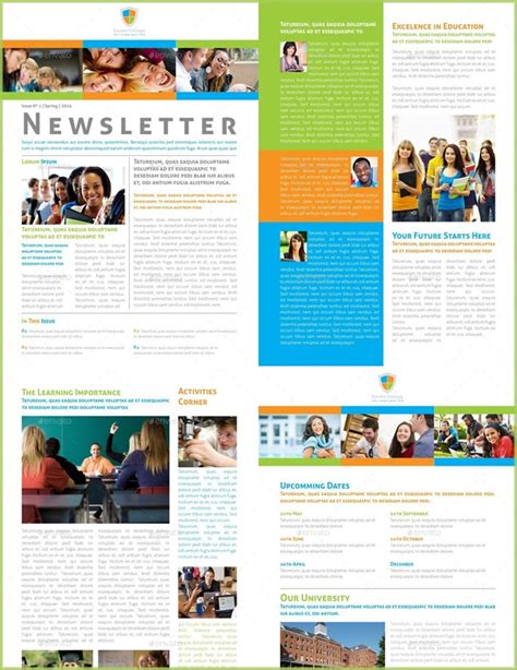 10 Classroom Newsletter Templates Free And Printable College Newsletter Templates Free