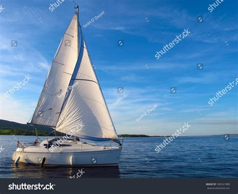 lough derg boat sail boat on lough derg ireland stock photo 109161908