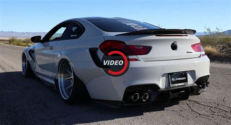 bmw m6 exhaust widebody bmw m6 gets its bark on thanks to armytrix exhaust