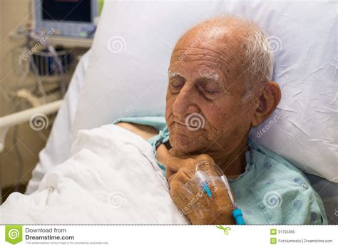 old man in bed elderly man royalty free stock photo image 31755365