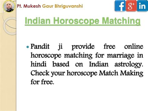 Free horoscope matching for marriage by name