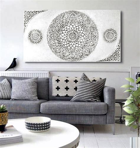 comprar cuadros tripticos baratos estudio delier cuadro mandala cabeceros sofas