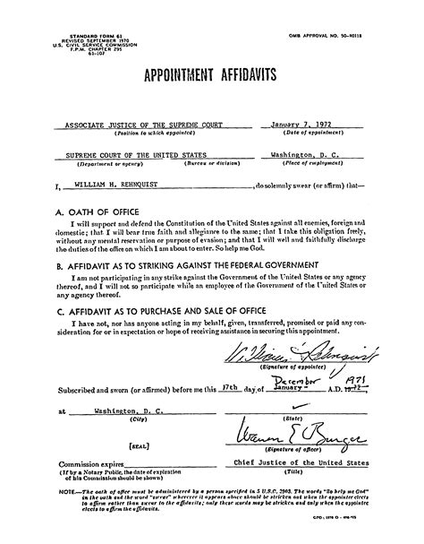 court affidavit free printable documents