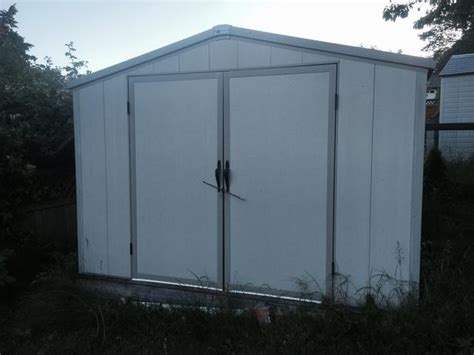 royal outdoor products vinyl shed saanich mobile