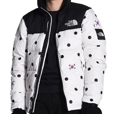 korean jacket the m ic nuptse jacket south korea t93bz91tp
