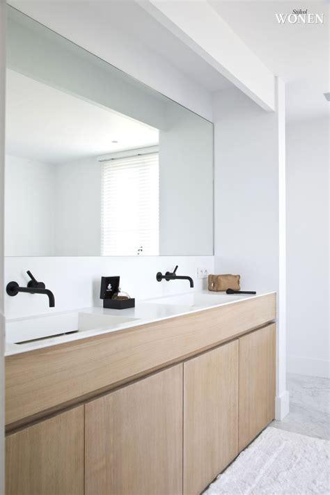 wastafelmeubel voor wc 25 beste idee 235 n over dubbele wastafel badkamer op