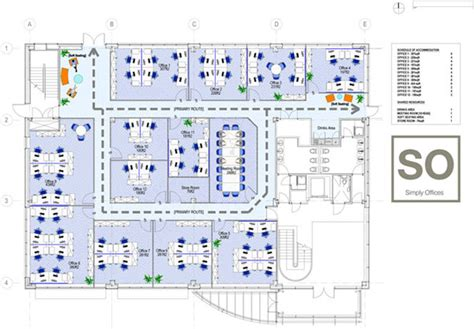 View Home Plans Sheffield Serviced Office Floorplans So Simply Offices