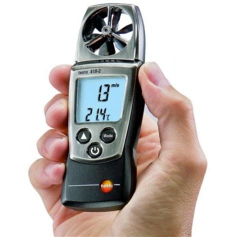 my testo testo 410 2 with my propeller anemometer h and t 176 c