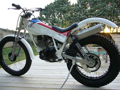 Trial Motorrad Wheelie by Honda Trl200 Honda Tlr200 1985 From Jrgen Mser