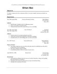 resume examples for labourer 6