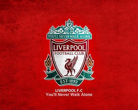 Kaos Liverpool Logo 03 liverpool fc logo wallpaper liverpool fc logo clubs design bild