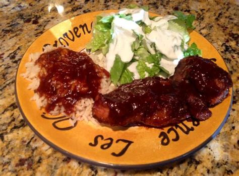 boneless pork country style ribs oven oven barbecued country style boneless ribs recipe just a