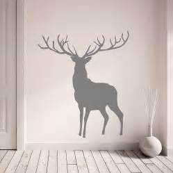 Deer Stickers For Wall Stag And Deer Vinyl Wall Stickers By Oakdene Designs