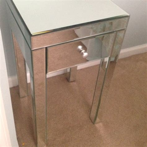 mirrored nightstand from target mirrored nightstand