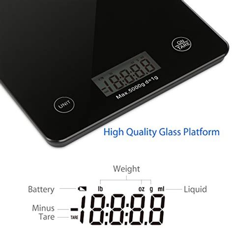 Lu Projector Rr 1byone food scale digital kitchen scale weigh in gram lb