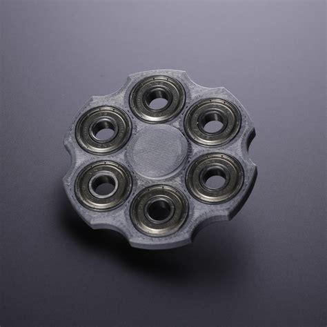 Fidget Spinner Metalic Handspinner Fidget Toys Silver fidget spinner revolver silver addictive fidget
