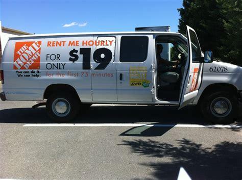 home depot truck rental cost