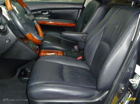 lexus rx black interior black interior 2005 lexus rx 330 awd photo 38654010