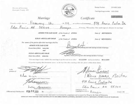 Marriage License Records Hennepin County Mn Update Omar S Response To Leaves More Questions Than Answers Alpha News