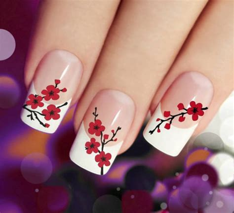 unghie con i fiori unghie 50 foto bellissime tutto nail unghie