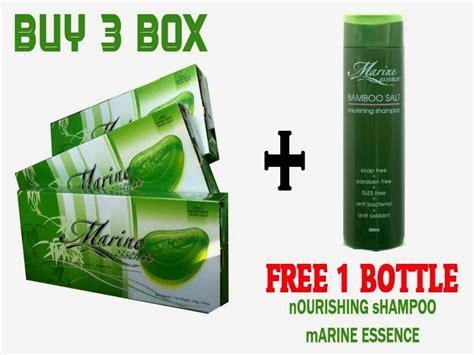 Ahli Shoo Marine Essence produk garam buluh herba cologen