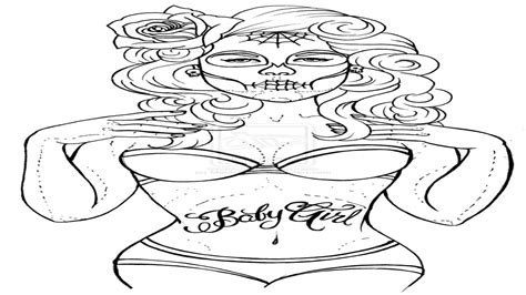 girl car coloring page sexy tattoo coloring pages pin up girl car tuning grig3 org