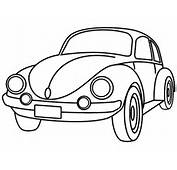 Super Beetle Car Coloring Page  Jpg