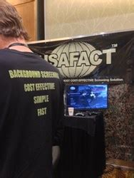 Usafact Background Check Usafact Announces Important New Findings About Background Screening Risks At Cta Apex
